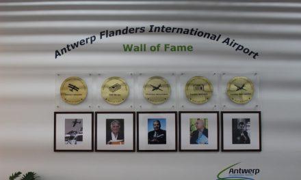 De luchthaven heeft haar eigen 'wall of fame'