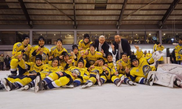 U19 Antwerp Phantoms kroont zich tot Belgisch Kampioen