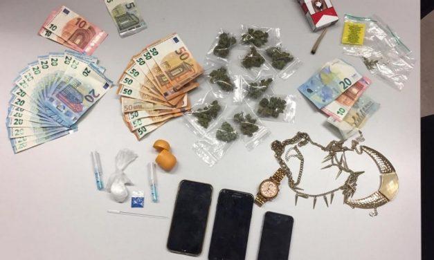 Politie vat drugdealers bij de kraag