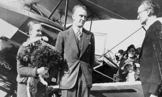 85 jaar geleden vertrok vanuit Deurne de eerste vlucht tussen België en Congo