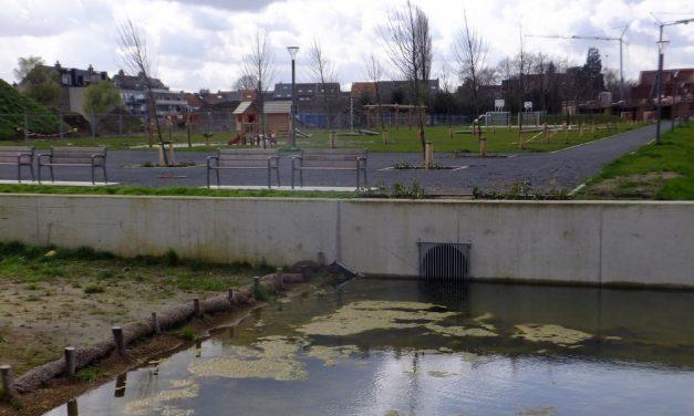 Water wordt te snel naar het riool afgevoerd