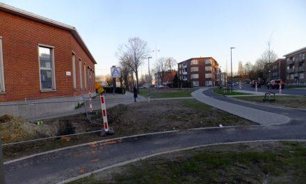 Het is geen weer om asfalt te leggen