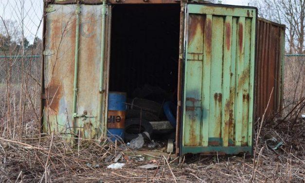 Container als sluikstort