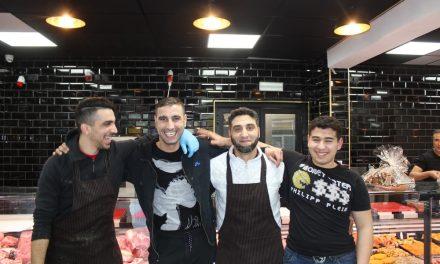 Een nieuwe slagerij op de Herentalsebaan