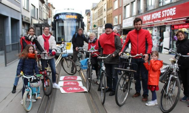Een knip om het doorgaand verkeer te weren van de Herentalsebaan