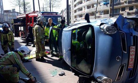 80-jarige chauffeurs botsen