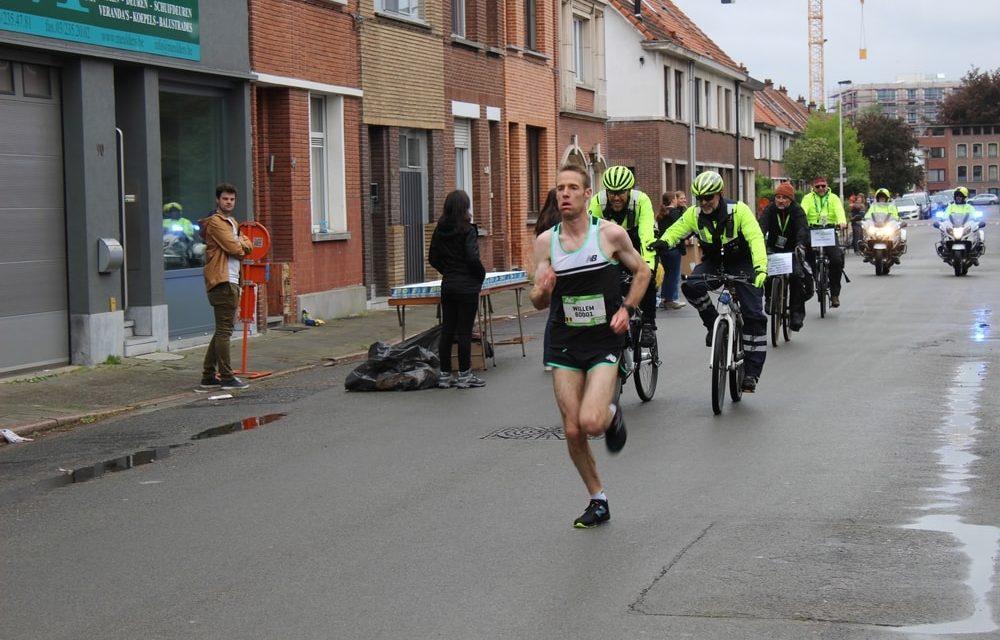 Marathonlopers doorkruisen Deurne