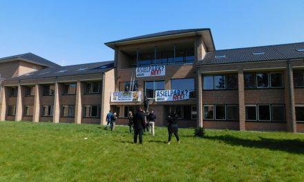 Nieuw asielcentrum werd bezet