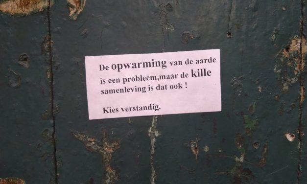 Mini-affiches met een grote boodschap
