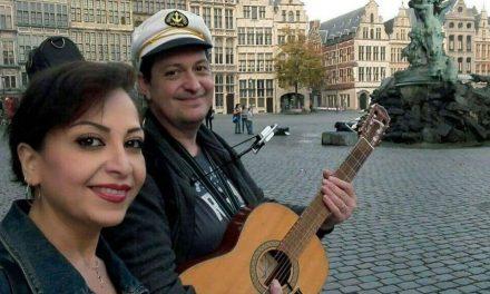 Wandeling en concert voor jarige John Lundström