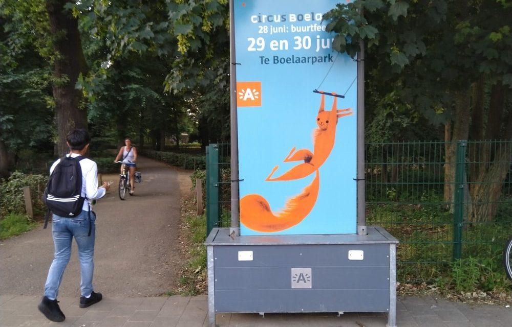 Te Boelaarpark wordt omgebouwd tot Circus Boelaere