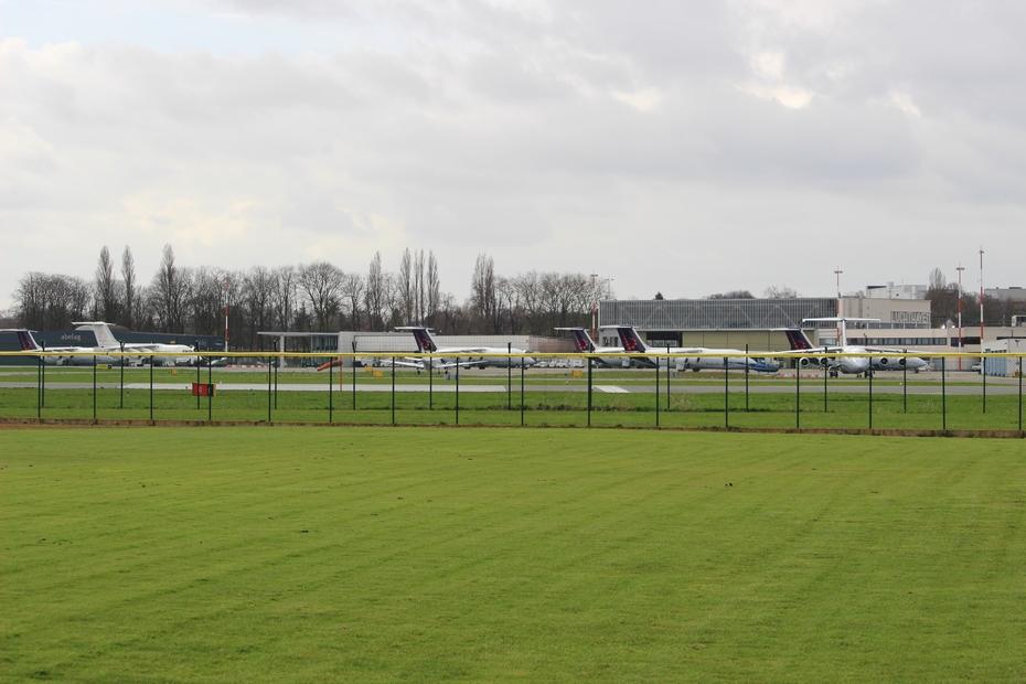 Luchthaven van Deurne beleeft een drukke zomermaand juli