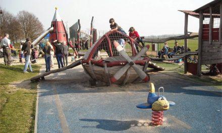 Gratis sport en spel in speeltuin Ruimtevaartlaan