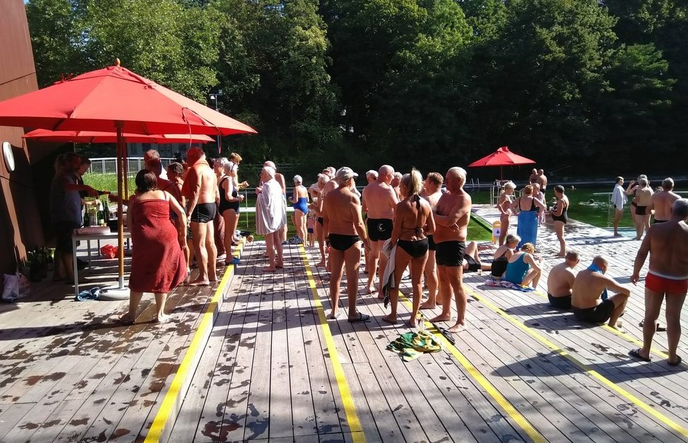 Zwemvijver is gesloten voor het grote publiek