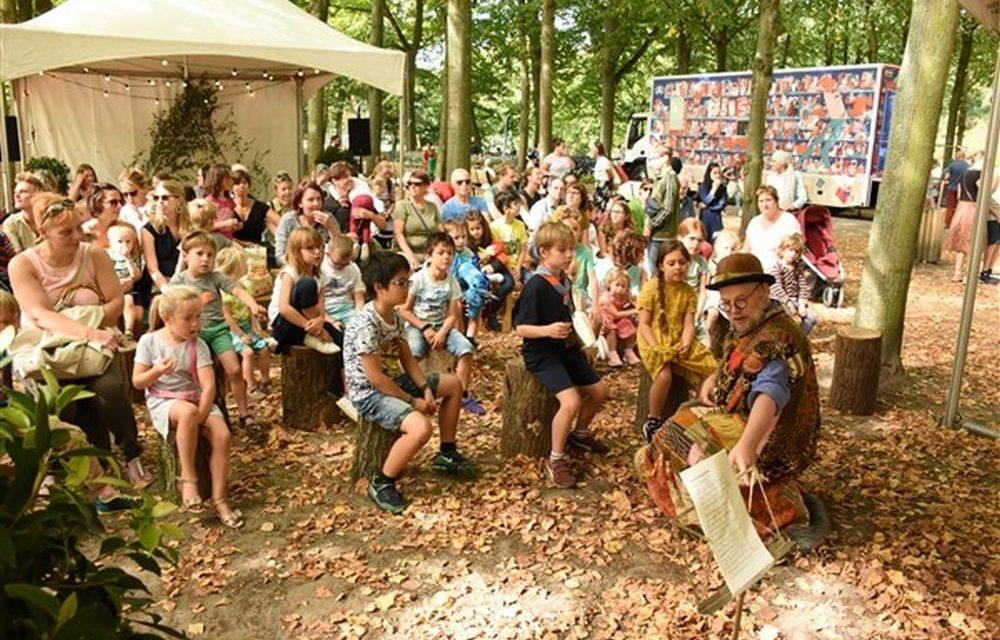 Veel volk voor Wonderwoud in Rivierenhof