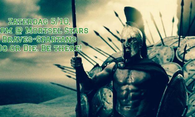 Spartans dwingt testwedstrijd af