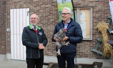 Kinderboerderij Rivierenhof is erkend als 'Levend Erfgoedhof'