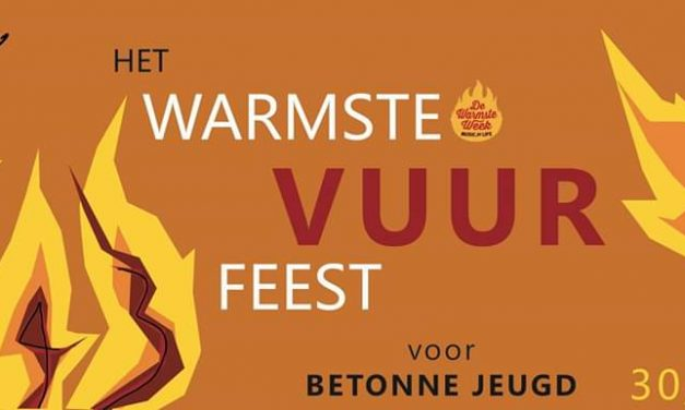 Scouts Rumoldus doopt haar Vuurfeest dit jaar om tot het Warmste Vuurfeest ooit.
