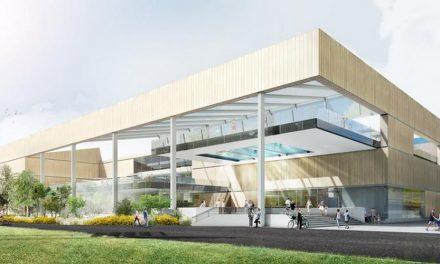 Start bouw sportcentrum Sportoase Groot Schijn