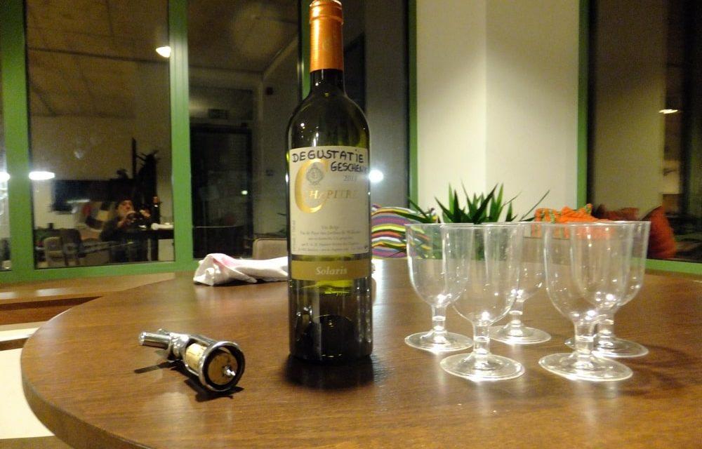 Belgische wijn die in de prijzen is gevallen is nu ook verkrijgbaar in Deurne