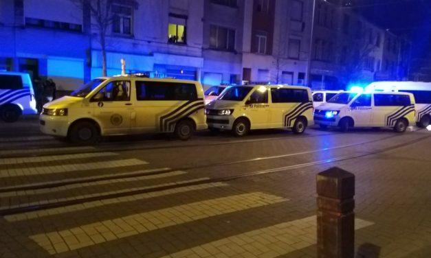 Spectaculair politieoptreden