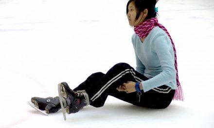 Gratis schaatspret met een lasershow