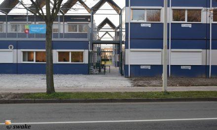 Nieuwe tijdelijke school zorgt voor problemen tussen voetgangers en fietsers