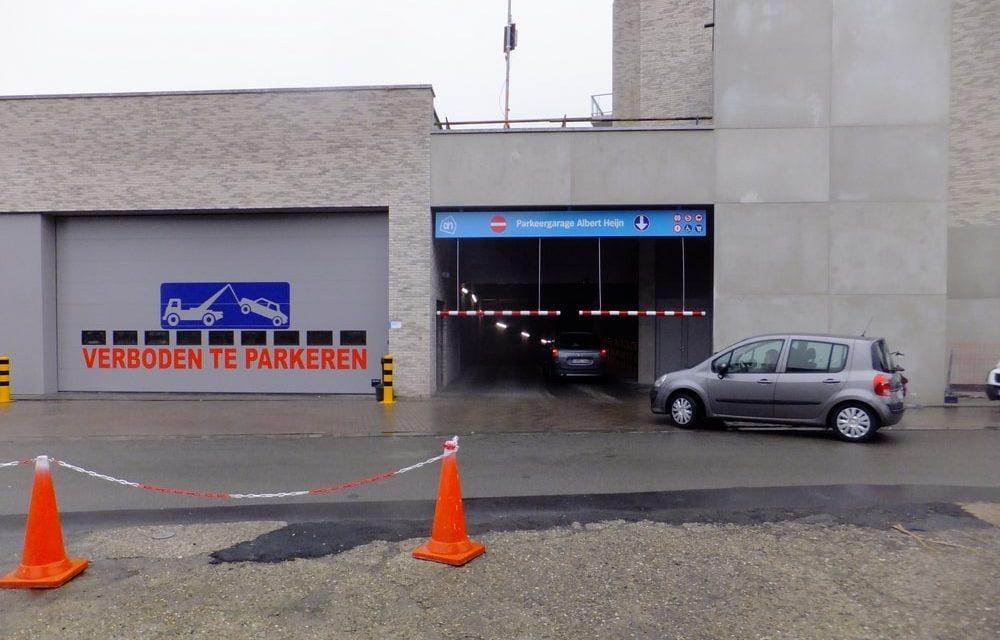 Nieuwe buurtparking in Deurne