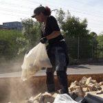 Recyclageparken stad komen naar bewoner thuis