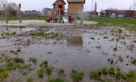 Wateroverlast op Eksterlaer wordt aangepakt