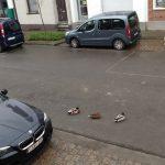 Eerste gegadigden voor de tuinstraat kamperen in de Jan Olieslagerstraat