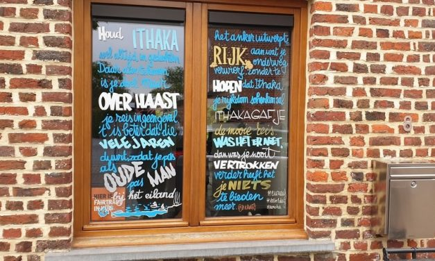 Een poëziewandeling doorheen Deurne-Noord