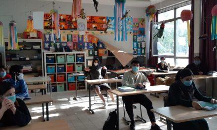 Leerlingen Elektromechanica maken eindwerk in virtuele omgeving