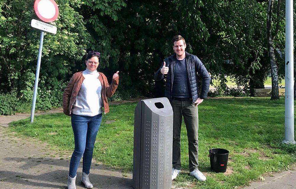 Betere spreiding vuilnisbakken dankzij een buurtbewoner
