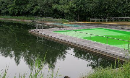 Ecologische zwemvijver is een veredelde betonnen kuip