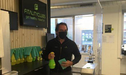 Antwerpse fitnesscentra danken Cathy Berx!