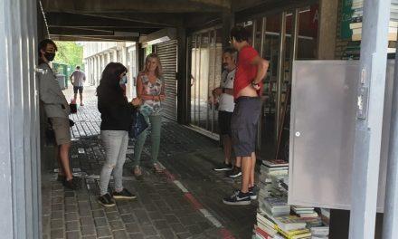 Na het districtshuis blijven ook de deuren van bib Couwelaar dicht