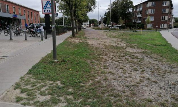 Afwerking van het kruispunt Vosstraat-Luchthavenlei