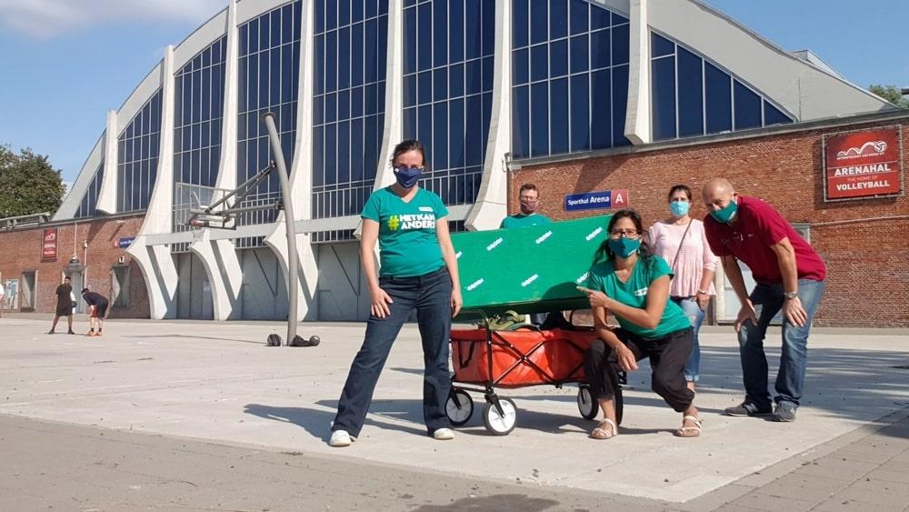 Groen vraagt inspraak bewoners Arena van bij het prille begin