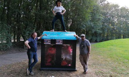 Vrijwilligers ruimen een halve ton zwerfvuil op