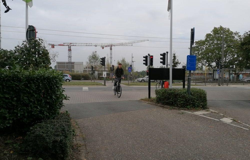 Geen passerelle tussen Rivierenhof en park Groot Schijn