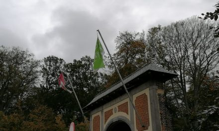 Rivierenhof hangt de groene vlag uit