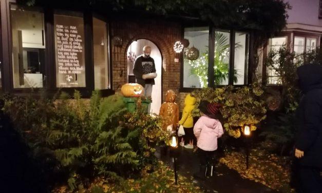 Onguur volk opgemerkt in buurt Boekenberg-Unitas