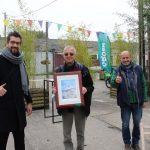 Groene Pluim voor burgerplatform Vliegerplein