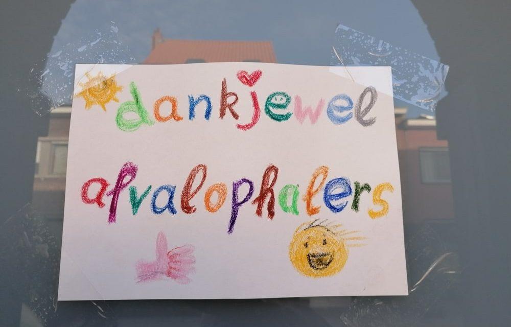 Afvalophalers worden bedankt
