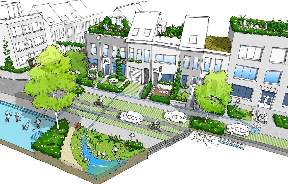Een nieuwe tuinstraat en een nieuwe woonstraat voor Deurne