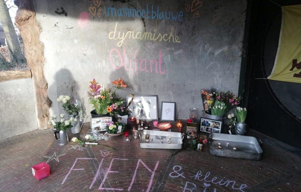 Scouts treuren om hun overleden vriendin