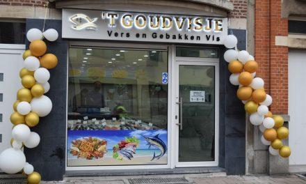 Een nieuwe viswinkel in Deurne-Centrum