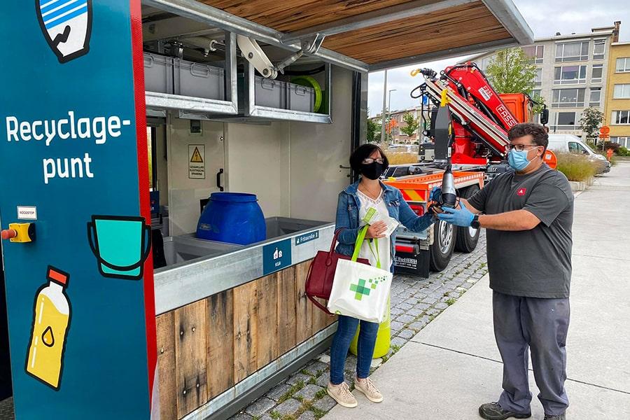 In Deurne wordt goed gerecycleerd