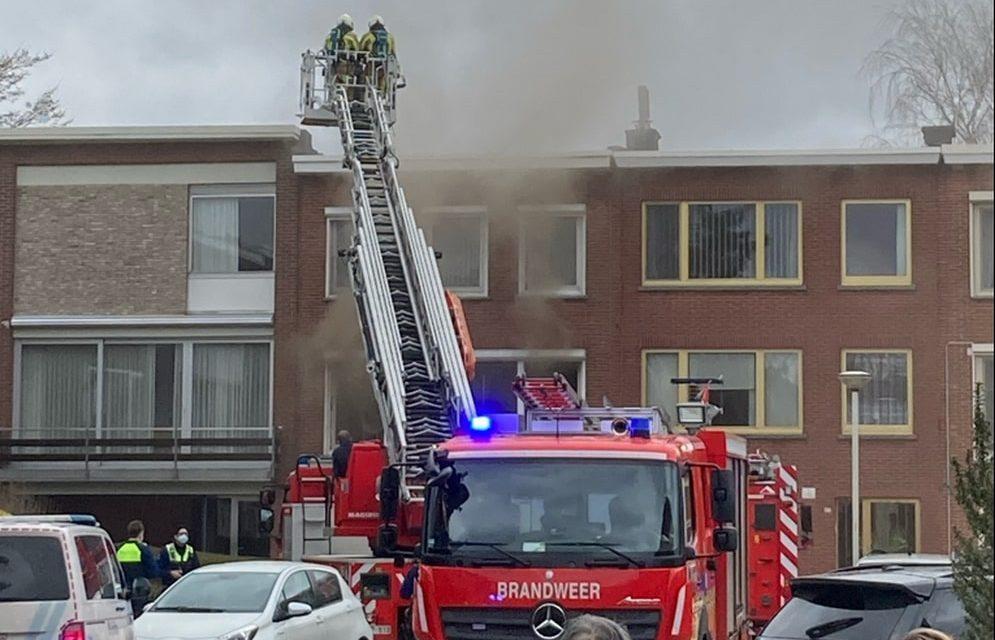 Brand bij bijna 100-jarige man